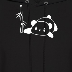 Panda Flat Out with Bamboo - Men's Hoodie