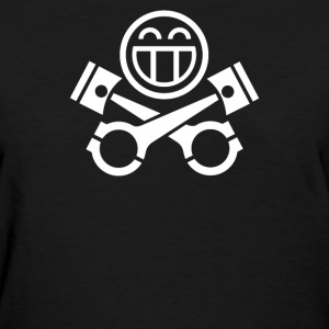 piston happy face - Women's T-Shirt