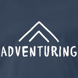 Adventuring T-Shirts - Men's Premium T-Shirt