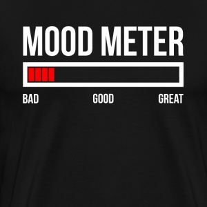MOOD METER BAD MOOD T-Shirts - Men's Premium T-Shirt