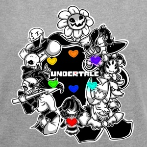 Undertale - Women´s Roll Cuff T-Shirt