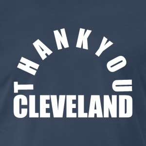 Thank You Cleveland - Men's Premium T-Shirt