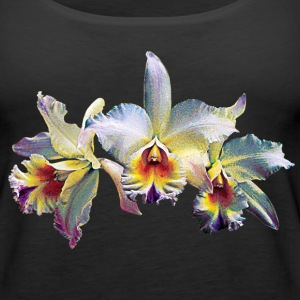 Three White Orchids Case Tanks - Women's Premium Tank Top
