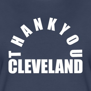 Thank You Cleveland - Women's Premium T-Shirt