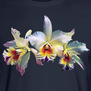 Three White Orchids Case Long Sleeve Shirts - Men's Long Sleeve T-Shirt