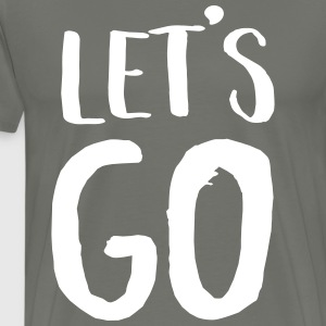 Let's Go T-Shirts - Men's Premium T-Shirt