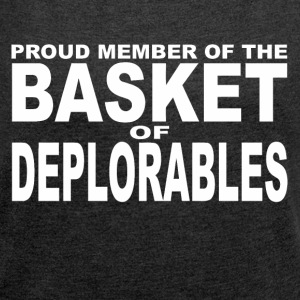Deplorables - Women´s Rolled Sleeve Boxy T-Shirt