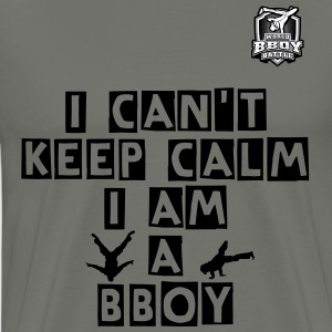 BboyingT-shirt Keep Calm !! - Men's Premium T-Shirt
