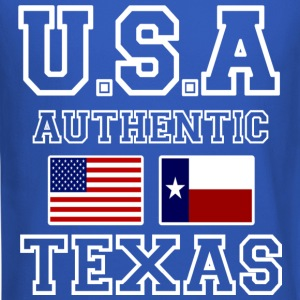 Awesome Patriotic and Authentic U.S.A Texas Flags - Crewneck Sweatshirt