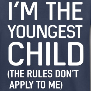 I'm the youngest child. No rules Kids' Shirts - Kids' Premium T-Shirt