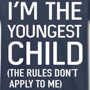 I'm the youngest child. No rules Baby & Toddler Shirts - Toddler Premium T-Shirt