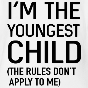 I'm the youngest child. No rules Baby Bodysuits - Baby Short Sleeve One Piece
