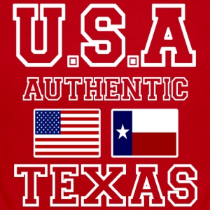 Awesome Patriotic and Authentic U.S.A Texas Flags - Short Sleeve Baby Bodysuit