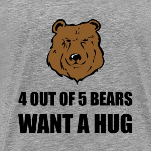 Bears Wants Hug - Men's Premium T-Shirt