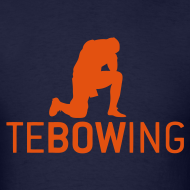 Design ~ Navy Classic Tebowing Shirt