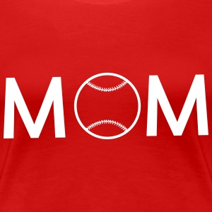 Baseball Mom T-Shirts - Women's Premium T-Shirt