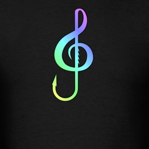 Music Hook Colorful - Men's T-Shirt
