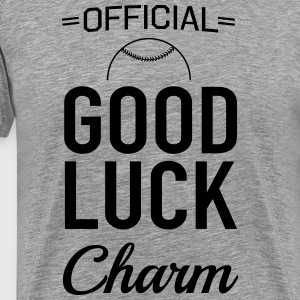 Official Baseball Good Luck Charm T-Shirts - Men's Premium T-Shirt