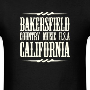 Bakersfield Country Music - Men's T-Shirt