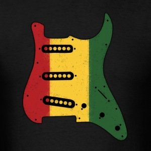 Reggae Pickguard - Men's T-Shirt