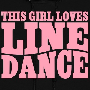THIS GIRL LOVES LINE DANCE Hoodies - Women's Hoodie