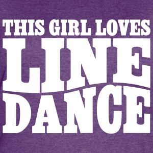 THIS GIRL LOVES LINE DANCE T-Shirts - Women's Vintage Sport T-Shirt