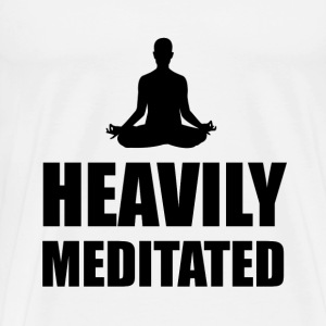 Heavily Meditated - Men's Premium T-Shirt