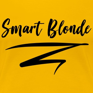 Smart Blonde T-Shirts - Women's Premium T-Shirt