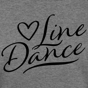 love_linedance_subgirl Long Sleeve Shirts - Women's Wideneck Sweatshirt