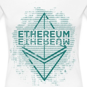 Ethereum Frontier Turquoise on white - Women's Premium T-Shirt