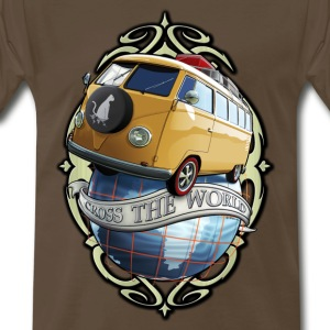 T1 Bus - Cross the World T-Shirts - Men's Premium T-Shirt
