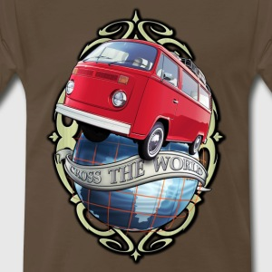 T2 Bus - Cross the World T-Shirts - Men's Premium T-Shirt