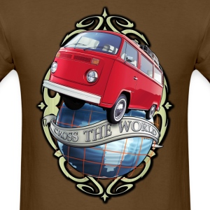 T2 Bus - Cross the World T-Shirts - Men's T-Shirt