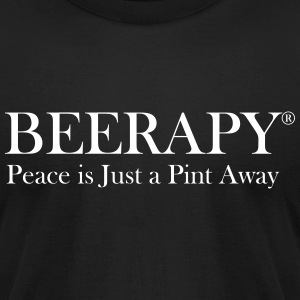 Beerapy - Men's T-Shirt by American Apparel