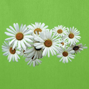 Bunch of White Daisies Bags & backpacks - Tote Bag