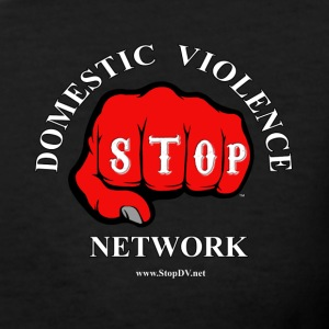 Women's V-Neck Stop Domestic Violence Network™ - Women's V-Neck T-Shirt