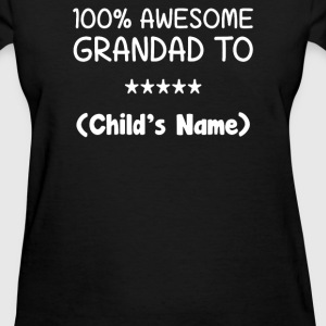 Awesome Grandad - Women's T-Shirt