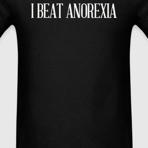 beat anorexia - Men's T-Shirt