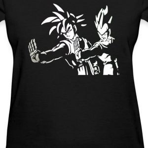 DRAGON BALL Z PULP FICTION Goku Vegeta - Women's T-Shirt