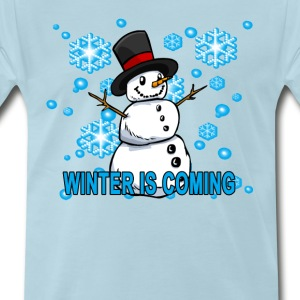cute_winter_is_coming_hoodie - Men's Premium T-Shirt