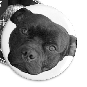Staffy Buttons - Small Buttons