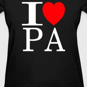 I Love Pennsylvania - Women's T-Shirt