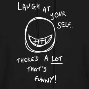 Lot to laugh at! - Men's Hoodie