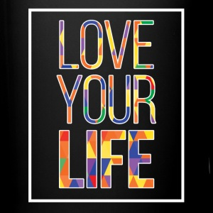 Full Color Coffee Mug Love Your Life - Full Color Mug