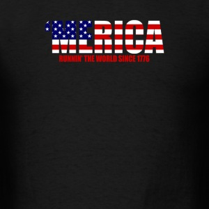 Running The World Since 1776 - Men's T-Shirt
