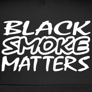 Black Smoke Matters Ball Hat - Trucker Cap