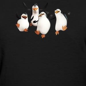 The Penguins Of Madagascar Tv Show - Women's T-Shirt