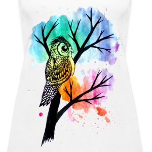 Eagle Owl Tank - Women's Premium Tank Top