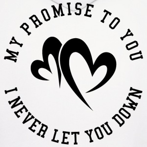 My promise to you Hoodies - Men's Hoodie