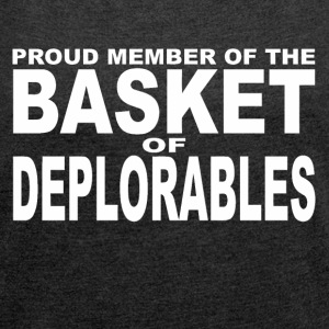 Deplorables - Women´s Roll Cuff T-Shirt